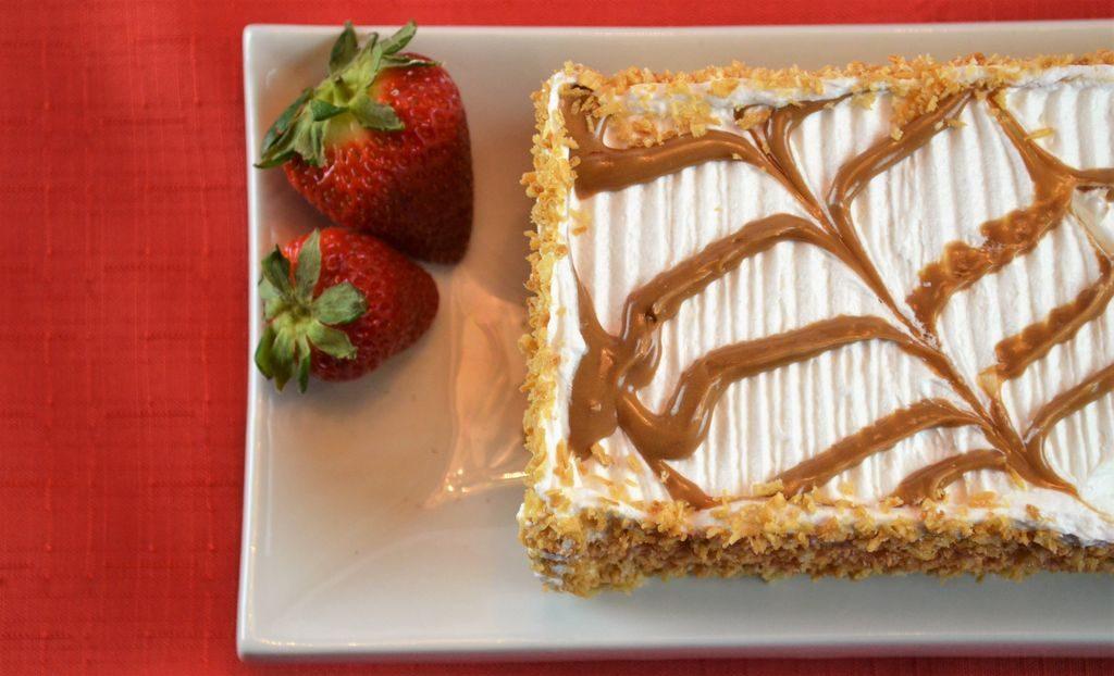 Gâteau demi-feuilleté