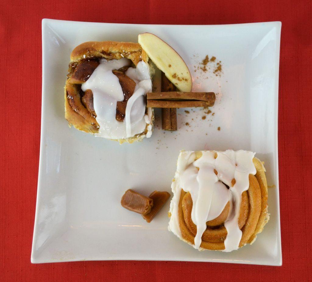 Brioche pomme et cannelle / brioche au caramel