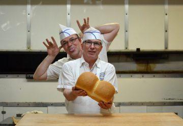 Les deux frères, Jean et Gilles Mailly. 3e génération de Mailly à opérer la boulangerie.