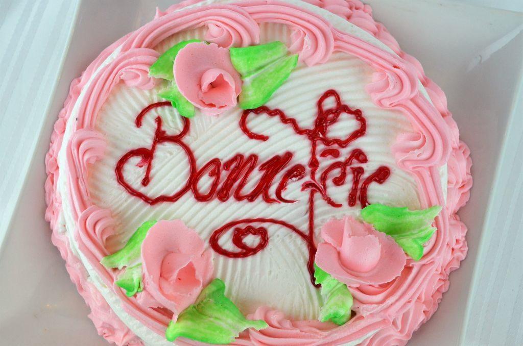 Gâteau d'anniversaire sur commande